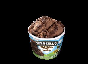 παγωτα Βen and Jerry's Chocolate Fudge Brownie παγωτό