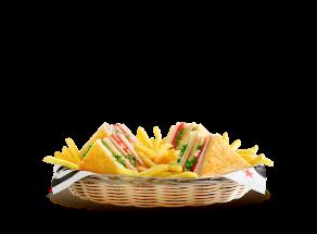 Club Sandwich Goodys - κλαμπ σαντουιτς με γαλοπούλα