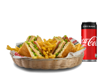 Club Sandwich & Αναψυκτικό - Προσφορές Delivery deals Goody's